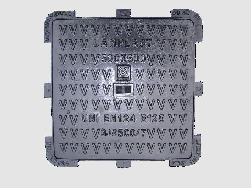 chiusini ghisa sferoidale EN124 - marche b 125 - lamplast - grottazzolina