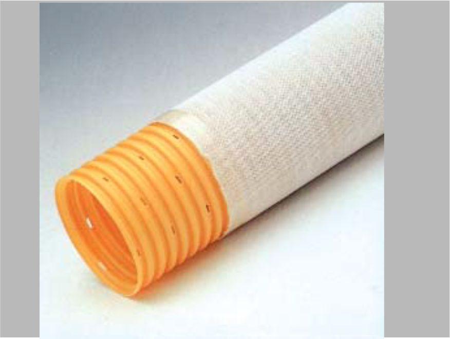 TUBO PVC DRENAGGIO - CALZA - lamplastitalia