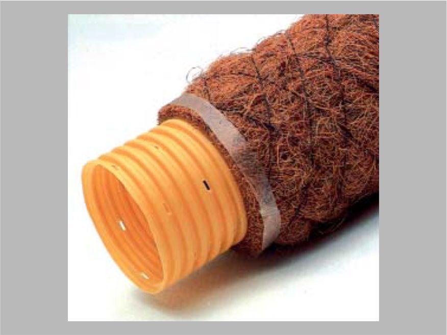 TUBO PVC - DRENAGGIO - FIBRA DI COCCO - Lamplast