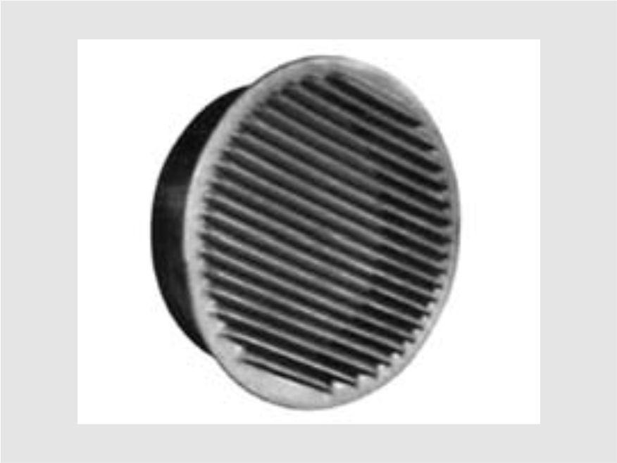 griglia aerazione tonde fisse in rame - lamplast