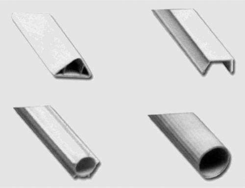 PROFILI IN PLASTICA IN PVC per EDILIZIA