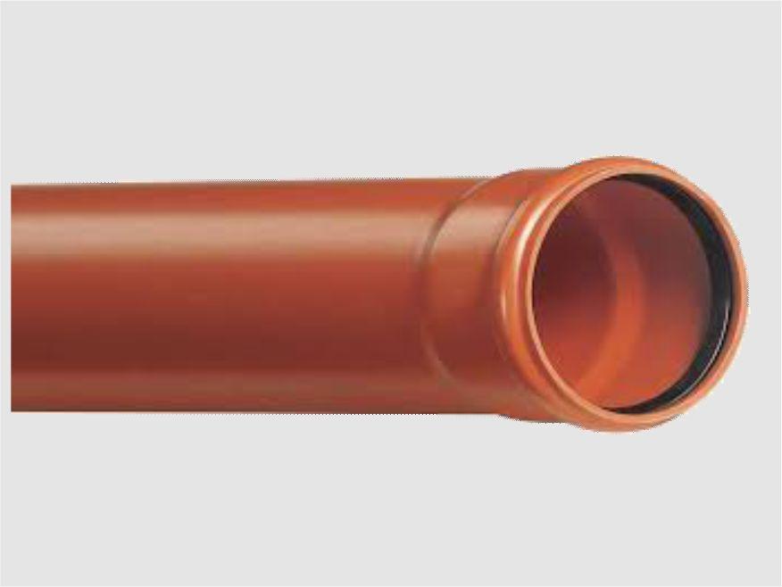 TUBI PVC GRANDI DIAMETRI FOGNATURA