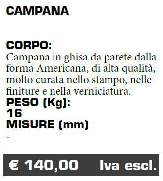 CAMPANA - FERMO - MARCHE - LAMPLAST - LIST2021