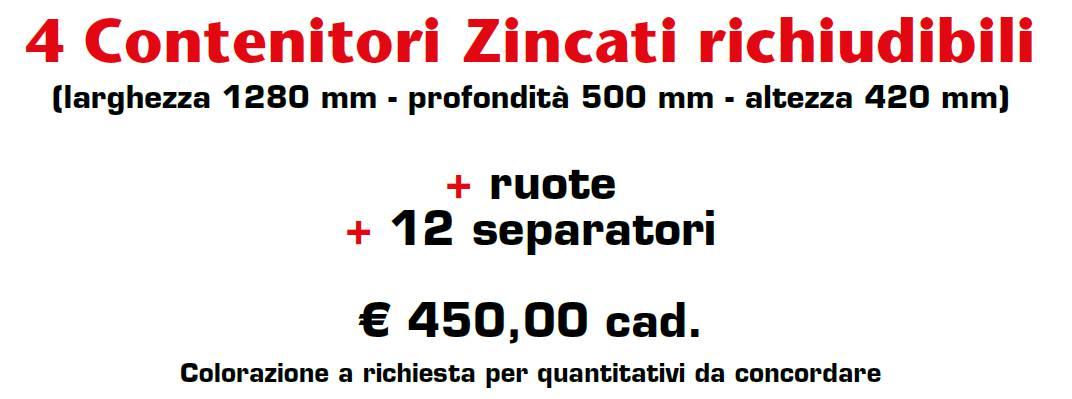 CESTELLI ZINCATI PREVERNICIATI - MARCHE - LAMPLAST - LIST2021