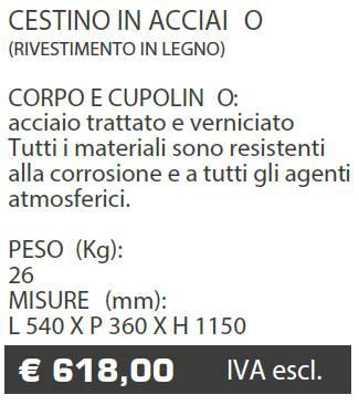 CESTINO A020 - MARCHE - LAMPLAST - LIST2021