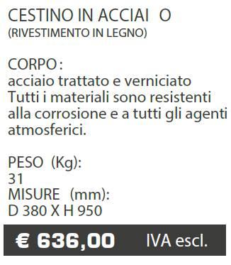 CESTINO A023 - MARCHE - LAMPLAST - LIST2021