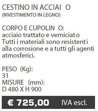 CESTINO A060 - MARCHE - LAMPLAST - LIST2021