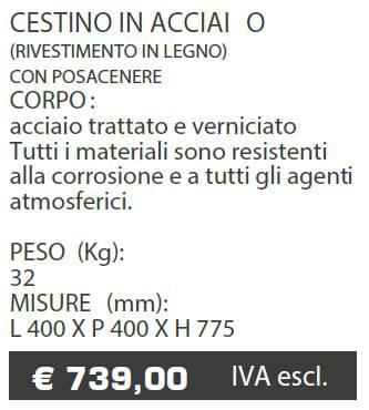 CESTINO A068 - MARCHE - LAMPLAST - LIST2021