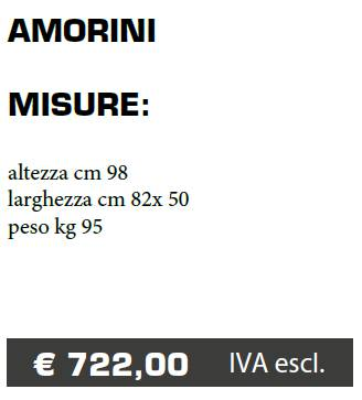 VASO AMORINI - FERMO - MARCHE - LAMPLAST - LIST2021