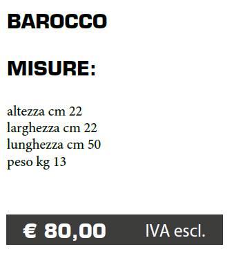 VASO BAROCCO - FERMO - MARCHE - LAMPLAST - LIST2021