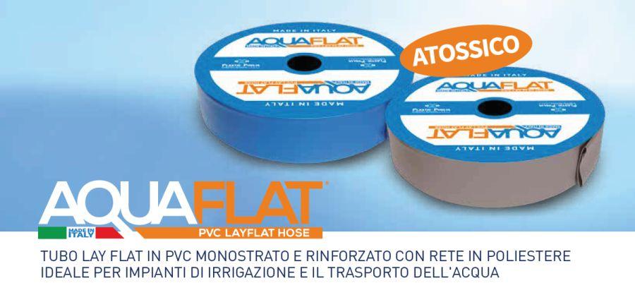 AQUAFLAT PVC - IRRIGAZIONE - LAMPLAST - FERMO - MARCHE - R2104