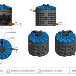FILTRO PERCOLATORE AER - DEPURAZIONE - LAMPLAST - FERMO - MARCHE - R2104