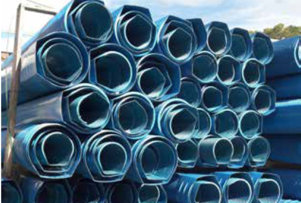 TUBI PVC - TUNNEL - ML6 - LAMPLAST - FERMO - MARCHE - R2104